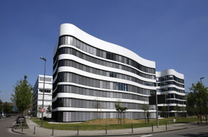 "Office building ""PANTA RHEI"". Photo credit: IMMOFINANZ"