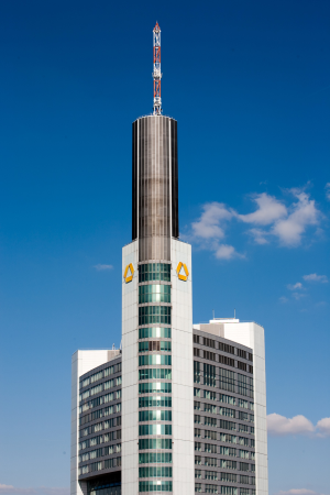 Caption: Commerzbank Tower, copyright: Commerzbank AG